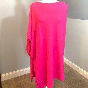 Crown and Ivy asymmetrical poncho